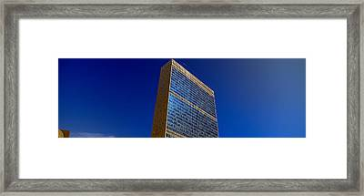 United Nations Building, New York Framed Print