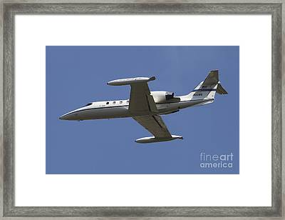United States Air Forces Europe C-21a Framed Print by Timm Ziegenthaler