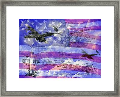 United States Armed Forces One Framed Print