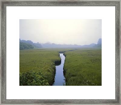 United States, Cape Cod Morning Scene Framed Print by Keenpress