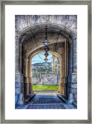 United States Capitol - Archway Framed Print