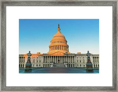 United States Capitol  Framed Print
