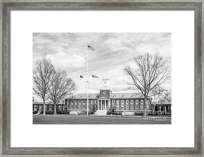 United States Coast Guard Academy Hamilton Hall Framed Print by University Icons