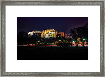 United States Institute Of Peace Framed Print by Larry Helms