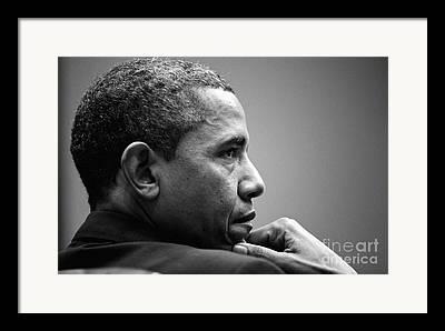 Mr. President Framed Prints