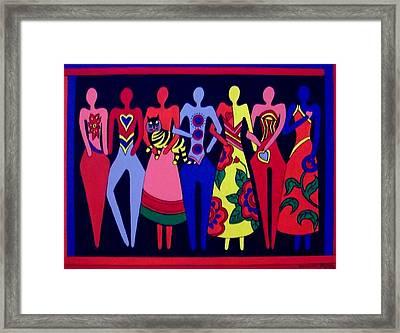 Unity 1 Framed Print by Stephanie Moore