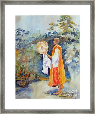 Framed Print featuring the painting Unity by Mary Haley-Rocks