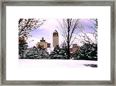 Framed Print featuring the photograph Unity Village by Steve Karol
