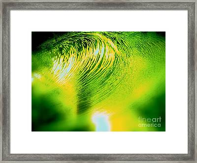 Universal Convergence Framed Print