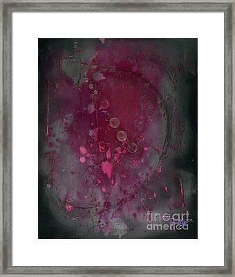 Universal Goddess 3 Of 3 Framed Print by Talisa Hartley