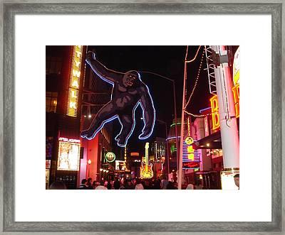 Universal King Kong Framed Print