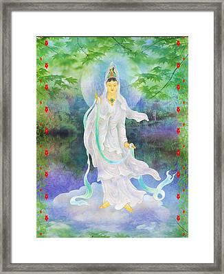 Universal Kuan Yin 1 Framed Print by Lanjee Chee