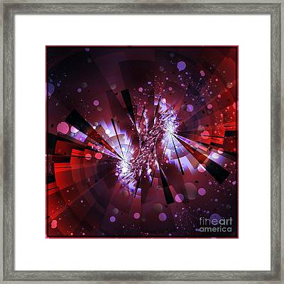 Universal Framed Print by Michelle H
