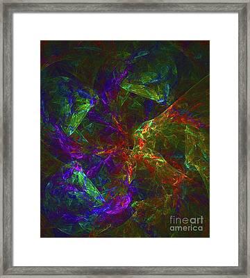 Universal Spectrum Framed Print