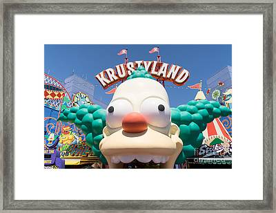 Universal Studios Hollywood California Dsc3546 Framed Print