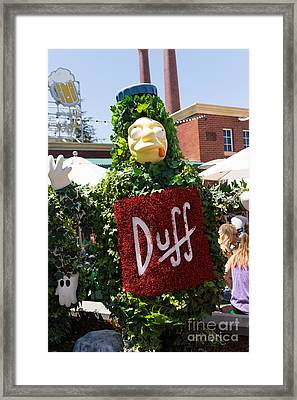 Universal Studios Hollywood California Dsc3552 Framed Print