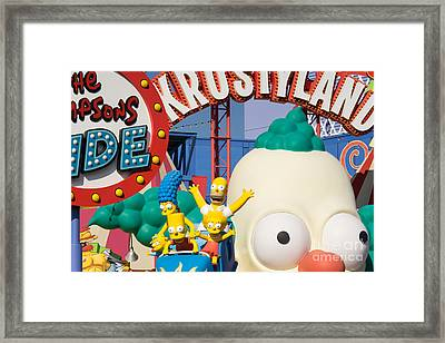 Universal Studios Hollywood California Dsc3606 Framed Print