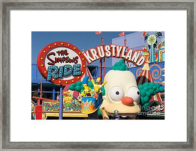 Universal Studios Hollywood California Dsc3607 Framed Print
