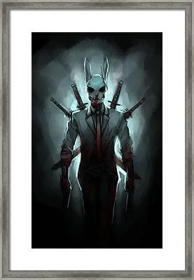 Universal Swordsman Framed Print