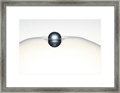 Universe Balance 1. Minimalism Framed Print