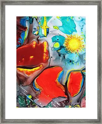 Universe Four Framed Print by David Raderstorf