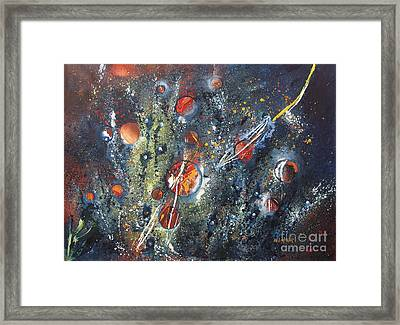 Universe Framed Print by Miroslaw  Chelchowski