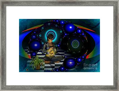 Universe Framed Print by Shadowlea Is