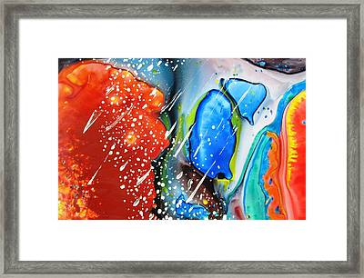 Universe Six Framed Print by David Raderstorf