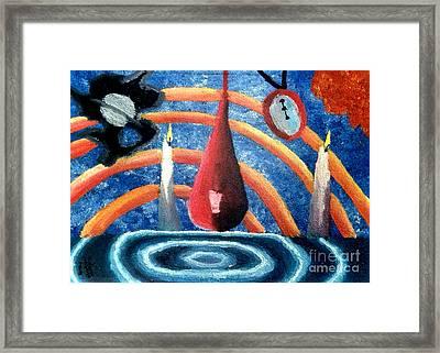 Universe Sky Framed Print by Luke Galutia