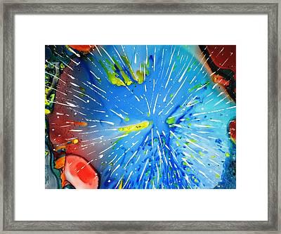 Universe Three Framed Print by David Raderstorf