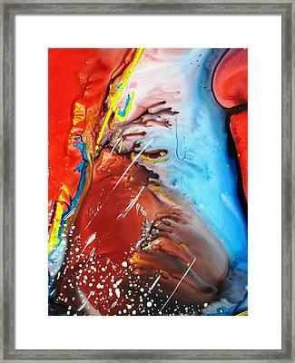 Universe Two Framed Print by David Raderstorf