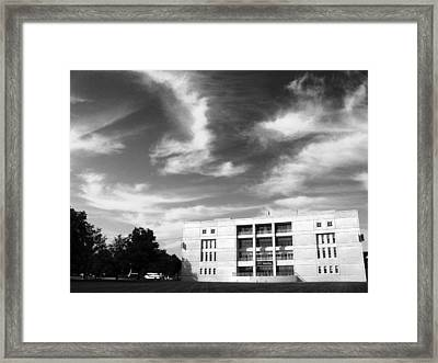 University At Albany  Framed Print