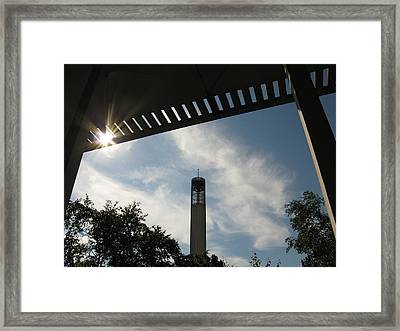 University At Albany Tower Framed Print