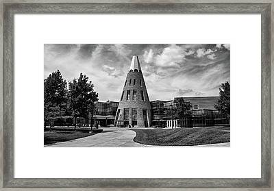 University Center B W Framed Print