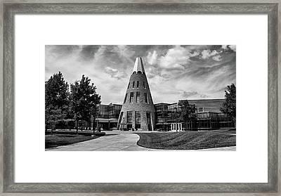 University Center B W Framed Print