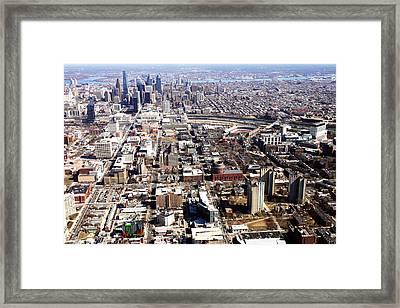 University City Philadelphia Framed Print by Duncan Pearson