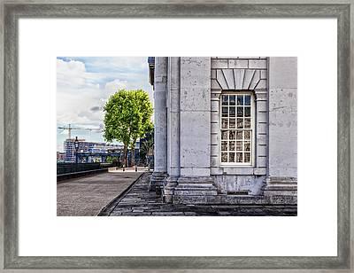University Corner Framed Print