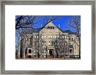 University Hall Framed Print