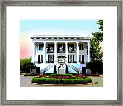 University Of Alabama Framed Print
