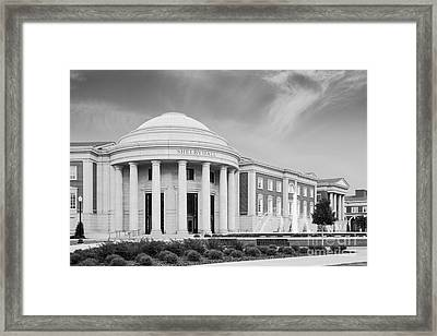 University Of Alabama Shelby Hall Framed Print by University Icons
