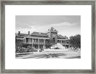 University Of Arizona Old Main Framed Print by University Icons