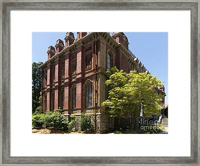 University Of California Berkeley Historic South Hall Dsc4048 Framed Print