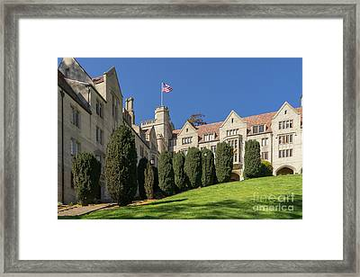 University Of California Berkeley Historical Bowles Hall College Dormatory Dsc4733 Framed Print