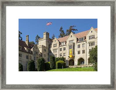 University Of California Berkeley Historical Bowles Hall College Dormatory Dsc4759 Framed Print