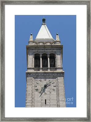 University Of California Berkeley Sather Tower The Campanile Dsc4046 Framed Print