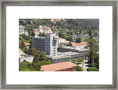 University Of California Berkeley Wurster Hall College Of Environmental Design Dsc4103 Framed Print by Wingsdomain Art and Photography