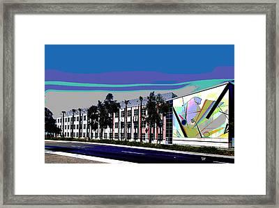 University Of California Framed Print