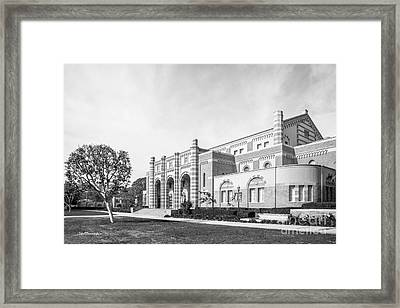 University Of California Los Angeles Kaufman Hall Framed Print