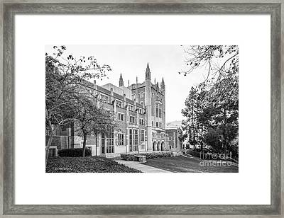 University Of California Los Angeles Kerckhoff Hall Framed Print