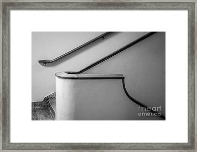 University Of California Los Angeles Murphy Hall Stairway Framed Print